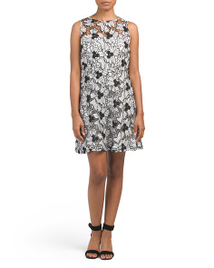Juniors Anneka Lace Skater Dress