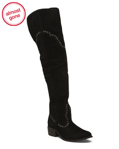 Made In Brazil Over The Knee Boots
