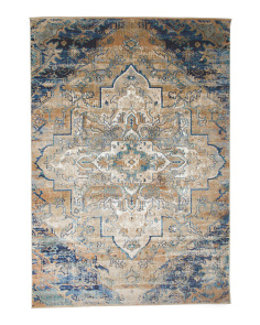 Made In Turkey 5x8 Medallion Area Rug