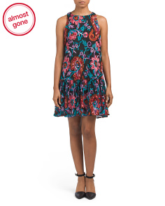 Juniors Jewel Floral Party Dress
