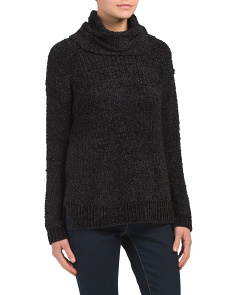 Juniors Lexington Boucle Sweater