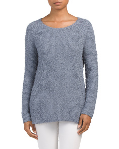 Juniors Shyla Eyelash Sweater