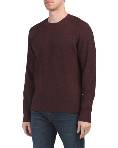 Raglan Sleeve Cashmere Blend Sweater