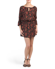 Juniors Mackay Bell Sleeve Dress