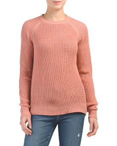 Juniors Percival Open Back Sweater