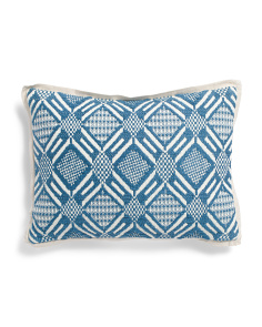 Made In India 12x16 Embroidered Pillow