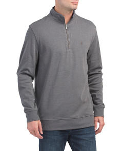 Hampton Interlock Quarter Zip Pullover