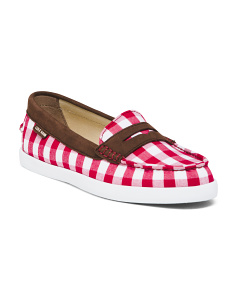 Gingham Loafers