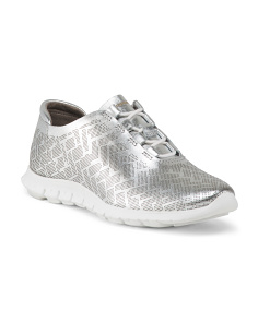 Lightweight Fashion Leather Trainers
