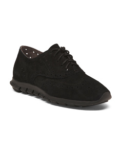 Wingtip Suede Fashion Sneakers