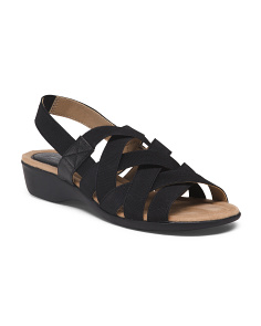 Wide Comfort Stretch Sandals