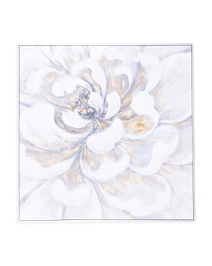 30x30 Embellisehed Floral Wall Art