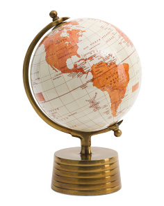 Made In India 8in Brass Base Globe