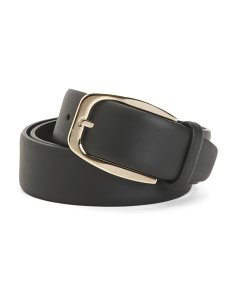 Made In Italy Classic Casual Leather Belt