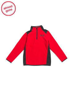 Boys Infrared Quarter Zip Fleece