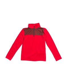 Boys Tech Prototype Quarter Zip Top