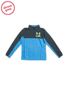 Boys Phenom Quarter Zip Top