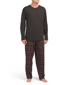 Microfleece Pant And Jersey Crew Set
