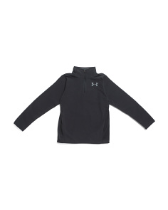 Boys Infrared Quarter Zip Fleece Top