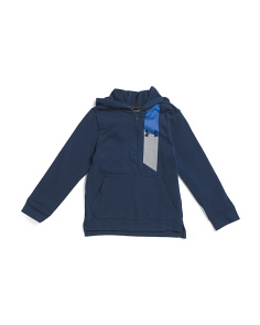 Boys Threadborne Quarter Zip Hoodie
