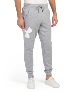 Rival Fitted Logo Joggers