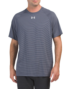 Striped Tech Locker Short Sleeve Tee
