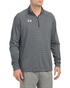 Team Stripe Tech Quarter Zip Top