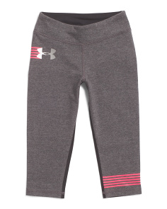 Girls Finale Knit Capris