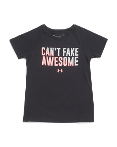 Girls Cant Fake Awesome T-shirt