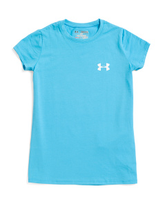 Girls Active Logo T-shirt