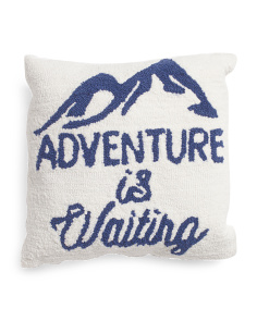 16x16 Adventure Is Waiting Pillow