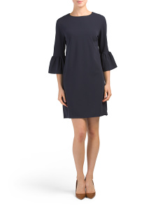 Made In Italy Bell Sleeve Dress