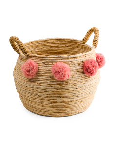 Large Round Banana Storage Basket