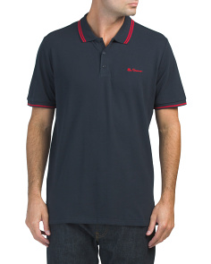 Wine Tipped Polo