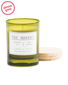 Made In USA 11oz Lemon & Mint Candle