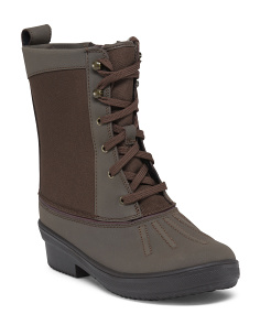 Weatherproof Lined Cold Weather Boots