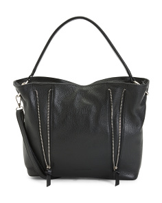 Made In Italy Leather Celeste Hobo