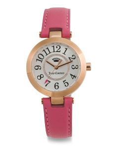 Women's Cali Leather Strap Watch