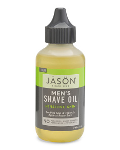 Men's 2oz Natural Sensitive Skin Shave Oil