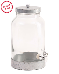 1.5 Gallon Galvanized Drink Dispenser