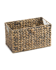 Small Storage Basket With Triangle