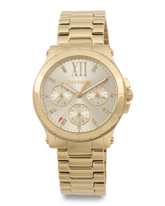 Women's Hollywood Bracelet Watch In Gold