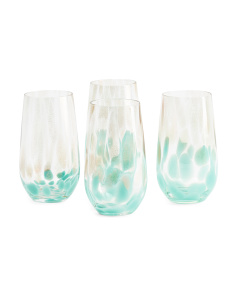 4pk Simone Highball Glasses