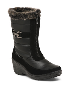 Weatherproof Temperature Rated Wedge Booties