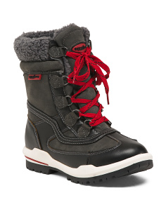 Weatherproof Faux Fur Lined Boots