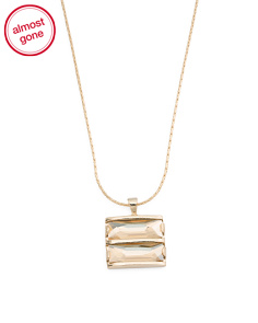 Made In Israel 14k Plated Silver Golden Shadow Necklace