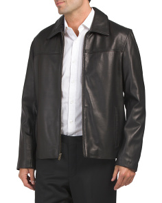 Smooth Lamb Leather Jacket