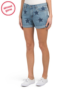 Roll Up High Rise Shorts