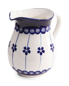 Potter Print Pitcher