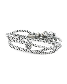 Made In Great Britain 925 Clyde Rope Anchor Bracelet